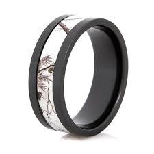 black zirconium wedding bands black zirconium realtree ring ap snow wedding band camo