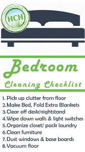 Bedroom Cleaning Checklist Spring Clean Your Bedroom Checklist Www Redglobalmx Org