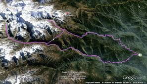 Nepal India Map by Kanchenjunga Trek U2013 A Great Teahouse Trek In Nepal Ght Khang La