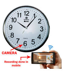 m mhb wifi wall clock spy camera price in india buy m mhb wifi