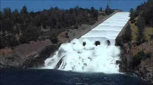 lake oroville spillway release july 2011 youtube