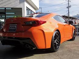 soulsteer com orange lexus rc f gets satin black hre s107