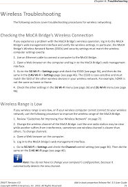am525 moca to wireless ethernet bridge user manual user guide