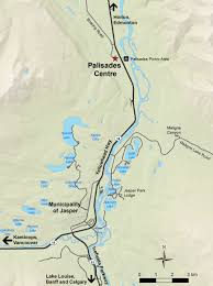 Jasper National Park Canada Map by Directions To The Palisades Centre Jasper National Park