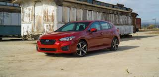 volkswagen sedan 2018 2018 subaru impreza adds new features higher price tag roadshow