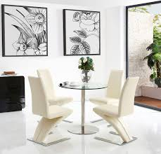Target Dining Chairs by Target Dining Set With 4 Ivory Chairs Modern Furniture Direct