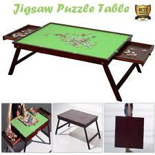 jigsaw puzzle tables portable unbranded wooden less than 15 pieces puzzles ebay