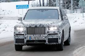 future rolls royce rolls royce cullinan suv closest look yet by car magazine