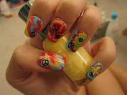 hippie water marble halloween nail art youtube