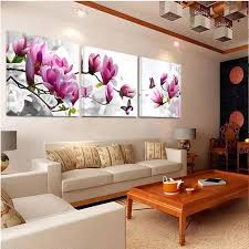 the livingroom 2018 home decor calligraphy canvas on print flowers the wall bedroom