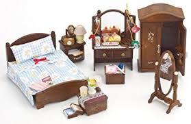 Sylvanian Families Master Bedroom Set Amazoncouk Toys  Games - Sylvanian families luxury living room set