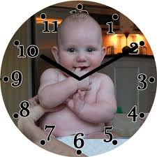 personalized clocks with pictures clock personalized clocks