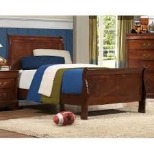 Brown Wood Bed Frame Rc Willey Sells Quality Wood Beds For Rooms