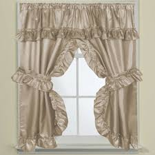 70 inch w x 45 inch l bathroom window curtain panel pair with tie