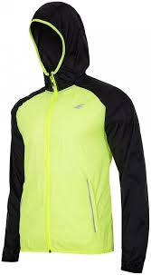 neon cycling jacket men u0027s running jacket kumtr001 neon yellow 4f