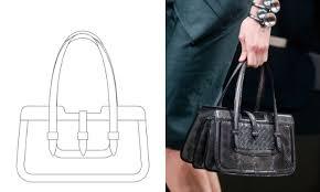 bottega veneta granted yet another design patent for runway bag
