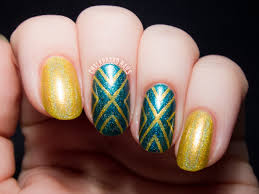 how to do a stripe design with tape nail art designs youtube cute