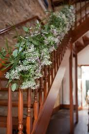How To Decorate Banister With Garland 210 Best Stairway Decorations Images On Pinterest Marriage
