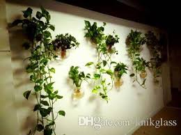 plant wall hangers indoor glass wall terrariums hanging wall planter vase wall bowl indoor