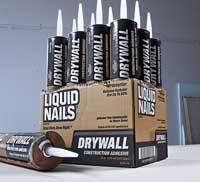 liquid nails adhesive about us