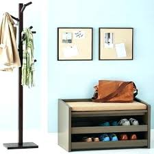 Free Entryway Storage Bench Plans by White Entryway Storage Shelf Homegoods Tips To Manage A Winter