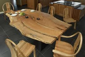 Raw Edge Table by Live Edge Design Inc Live Edge Slab Wood Tables And Furniture