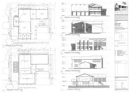 split level house plan residential floor plans and elevations homes zone