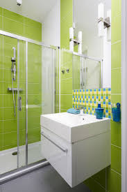 lime green bathroom tile paint bright bath rugs dulux and brown