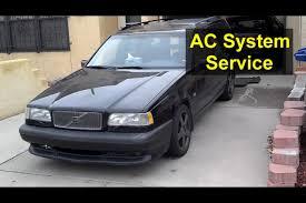volvo xl 70 basic ac service volvo 850 s70 v70 xc70 auto repair series