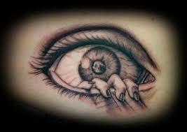 custom mc esher eye by miss marshall tattoonow