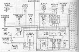 chang an alto car air conditioning system circuit diagram