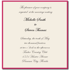 Bride To Groom Wedding Card Wedding Invitations Wording From Bride And Groom Wedding