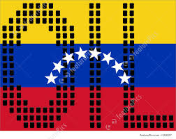 Flag Venezuela Illustration Of Oil Barrels And Venezuelan Flag