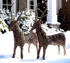 wonderful design ideas outdoor deer decorations lighted