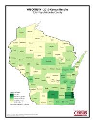 Wisconsin State Map by Census 2010 News U S Census Bureau Delivers Wisconsin U0027s 2010