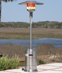 Stainless Steel Patio Heaters by Uniflame Commercial Outdoor Patio Heater 304 Stainless Steel Wheel