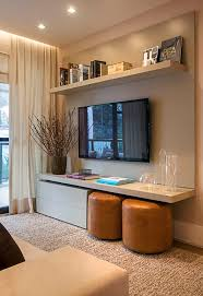 Create Storage Space With A Nice Looking Contemporary Wall Mount Unit Ideas With Floating