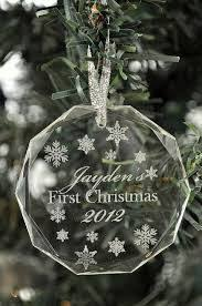 Etched Glass Ornaments Personalized Personalized Laser Cutting Christmas Ornament And Ornament
