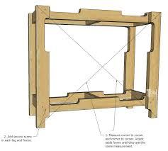 Corner Entry Table Diy Free Pallet Porch Table Tool Belt
