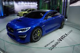 subaru midnight next gen subaru wrx sti could be a hybrid