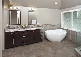 seattle small freestanding tub bathroom contemporary with window