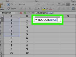Aa Step 4 Worksheet 3 Ways To Multiply In Excel Wikihow