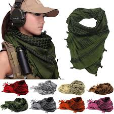 arab wrap shemagh thicken muslim multifunction tactical scarf neck