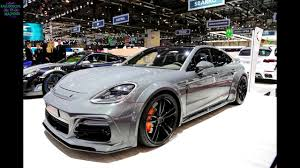 techart porsche panamera techart grand gt based on the porsche panamera turbo 2017 geneva