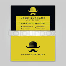 Business Cards Front And Back Vector Business Card Creative Design Modern Trend Style Front