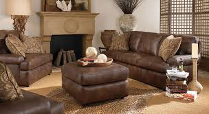 Leather Living Room Furniture Ideas With Brown Couch Stylish - Furniture set for living room