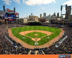 Comerica Park Map Tradition In Detroit Sports The Big House Of Ideas