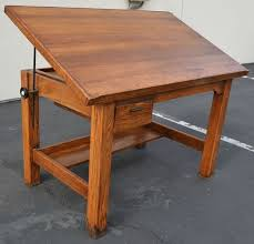 Drafting Table Woodworking Plans 24 Best Art Desks And Cool Furniture Images On Pinterest