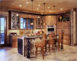 Rustic Kitchen Pendant Lights Rustic Kitchen Bar Kitchen Island Beautiful Mini Rustic