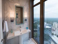 Powder Room Photos - half baths and powder rooms hgtv